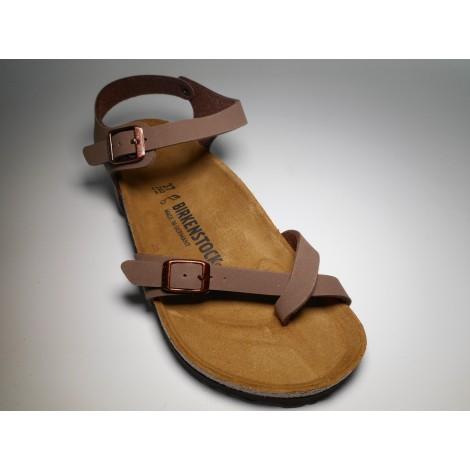 3b3f98c7c50476 Birkenstock Sandalo Unisex Taormina Mocca