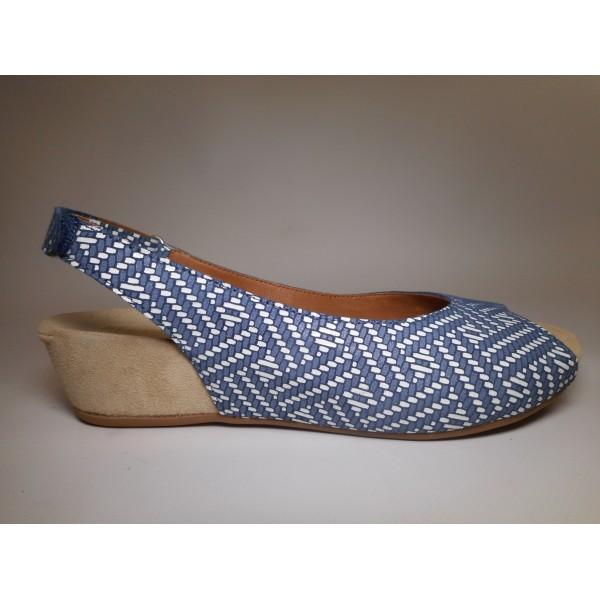 Benvado Sandalo Donna Claudia Blu