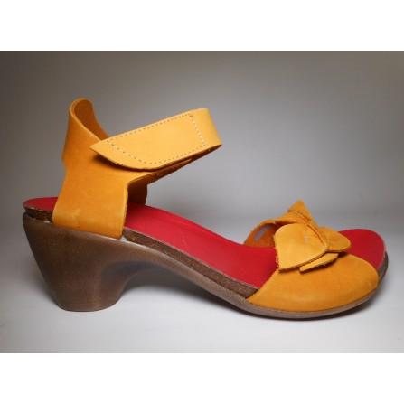 Loints of holland Sandalo Donna Sandalo Giallo