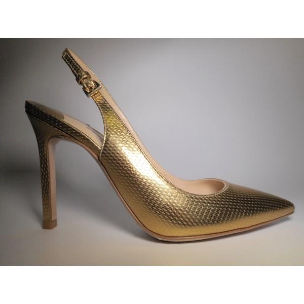 Festa Chanel Donna Tacco 90 Oro