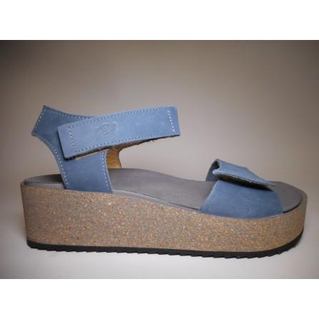 Loints of holland Sandalo Donna Sandalo zeppa Jeans