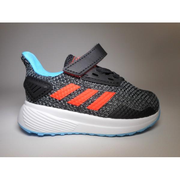 Adidas Scarpa ginnastica Bambino Duramo 9 Nero