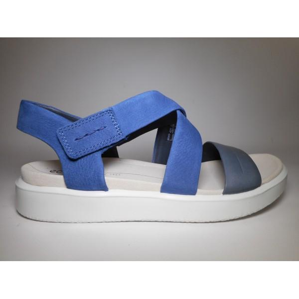 Ecco Sandalo Donna Flowt Blu