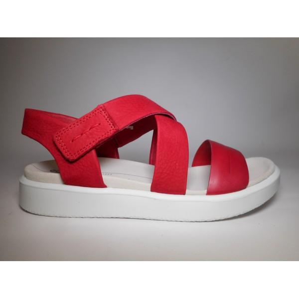Ecco Sandalo Donna Flowt Rosso
