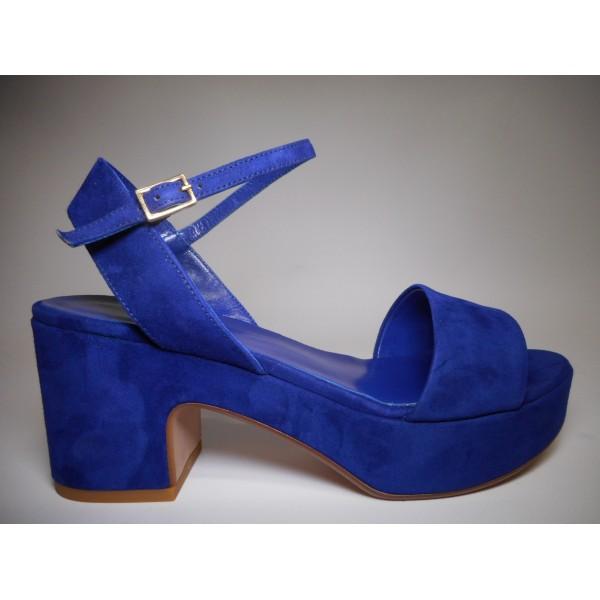 Silvia rossini Sandalo Donna Sandalo Bluette